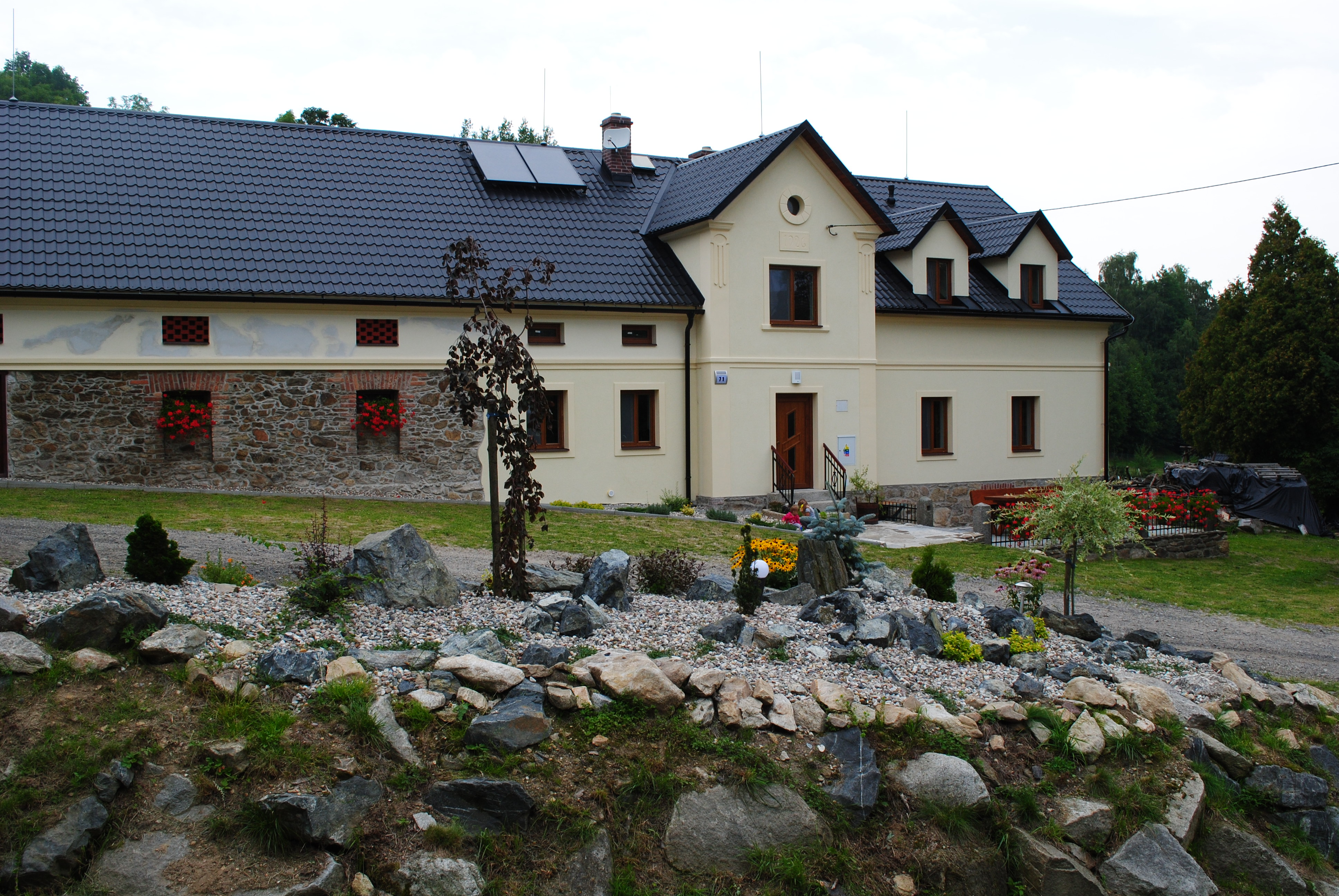 Krásně opravená venkovská usedlost